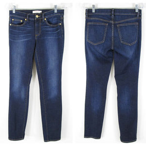 Tory Burch Dark Wash Super Skinny Jeans